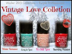 Betty Nails: Purple Professional - NEW Collection - Vintage Love