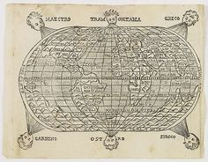 ROSACCIO , G. - [ World map ]