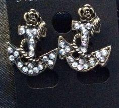 Anchors Away post earrings on Etsy, $6.00