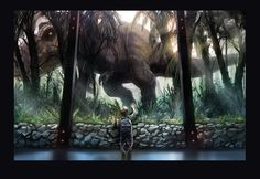 Jurassic World 'nostalgia' fan art by WEVART.deviantart.com on @DeviantArt