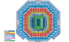 Seating Chart: US Open