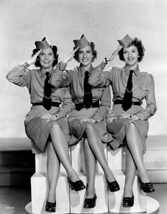 The Andrews sisters.