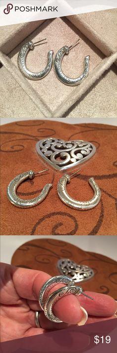 "Brighton Earrings. Brighton cute fish hook design with a 1"" drop. Brighton Jewelry Earrings"