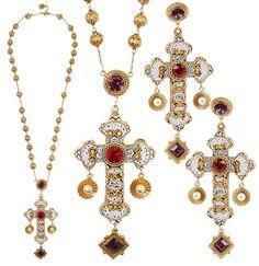 Federica Frosini crushes on Dolce & Gabbana's AW13 micromosaic Byzantine jewels. #jewelrytrends