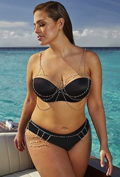 Plus Size - Ashley Graham x swimsuitsforall Intrigue Bikini