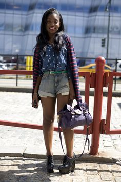 Rajni Jacques, Fashion Features Editor & one of my fav editors might I add