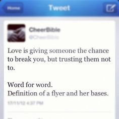 OMG! I tell this to my bases and my flyer!