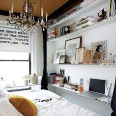 Creative thinking for a very small space