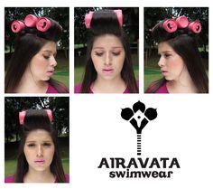 Airavata swimwear runway colombiamoda 2016 pasarela m rasgos hand made and luxury brand makeup rolls eyeline