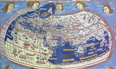 http://www.guardian.co.uk/science/2012/sep/22/why-maps-shape-our-minds  A world map based on the writings of Claudius Ptolemy, the first geographer, published in 1482 by the German cartographer Nicolaus Germanus as part of his Cosmographia. Photograph: CorbisA world map based on the writings of Claudius Ptolemy, the first geographer, published in 1482 by the German cartographer Nicolaus Germanus as part of his Cosmographia. Photograph: Corbis