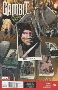 Marvel Gambit comic issue 17