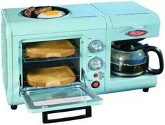 Breakfast station. I so want this!