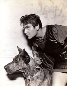 Valentino - http://www.valentinovamp.com/  Henry-Wilcoxon.  1934 w/dog