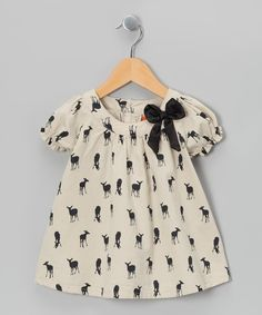 Throw on this sweet top for some fabulous fun. Puff sleeves and a whimsical print it the perfect pick for any trendsetting girl's wardrobe.100% polyesterMachine wash; hang dryImported