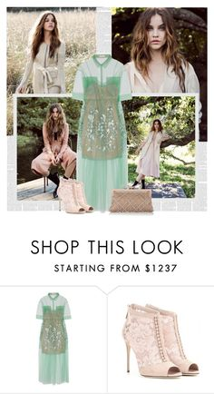 """Mint"" by bklana ❤ liked on Polyvore featuring Delpozo, Dolce&Gabbana and Valentino"