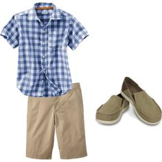 """Crocs Men's Summer Style"" by crocsshoes on Polyvore - find these shoes and more on www.crocs.com!  #crocs"