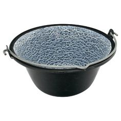 Kotlík Piknik 0,8 l, smalt Griddle Pan, Grill Pan