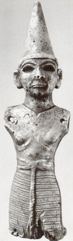 Hettite, metal figures,Doğantepe,Amasya (Kurt Bittel) (Erdinç Bakla archive)