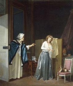 Louis-Léopold Boilly La Mère en corroux (1790)