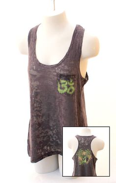 Bodhi Tree Om Tank Top by CryptobioticDesigns on Etsy