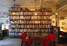 Book cafe -Waseda, Japan