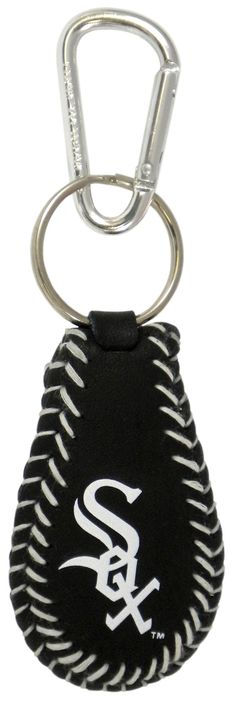 Chicago White Sox Team Color Baseball Keychain