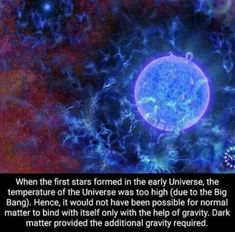 The miracle of dark matter Weird Science Facts, Wtf Fun Facts, Funny Facts, Astronomy Facts, Space And Astronomy, Astronomy Science, Einstein, Theory Of Relativity, Space Facts