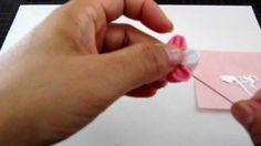 kanzashi how to make 4 tsumamizaiku