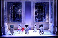 Paride ed Elena. Teatro di Pisa. Scenic design by Lorenzo Cutùli. 2007