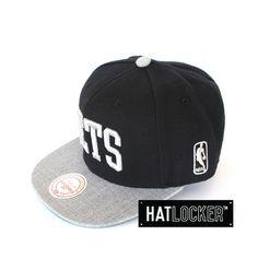 Brooklyn Nets TC Top Snapback by Mitchell & Ness   Find it at www.hatlocker.com #snapback #nba #brooklyn