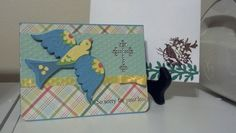 cards made with cricut florals embellished | Sympathy card with envelope. Bird made with cricut cartridge Floral ...