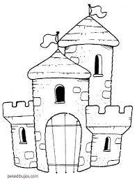 Resultado De Imagen De Dibujo Campesino Medieval Castillo Para Colorear Dibujo De Casa Colores