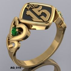 ANILLOS 15 AñOS — WWW.HACEMOSTUSJOYAS.COM Gold Rings, Quinceanera Ideas, Quinceanera Dresses, 3d, Valencia, Jewellery, Anime, Women, Jackets