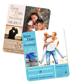 Like the magnet idea for save the date!