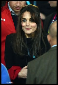 Catherine, Duchess of Cambridge, attends a match of the 2015 Rugby World Cup between England and Wales at Twickenham stadium, south west London, on September 26, 2015.