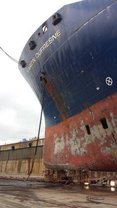 Les travaux de jouvence du Marion Dufresne ont démarré | Mer et Marine