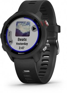 You do the running. Garmin Forerunner 245 Music does the thinking. With music streaming, GPS and advanced training features, it lets you keep moving to the music without lugging your phone along. Available at REI, Satisfaction Guaranteed. Fitness Watches For Women, Watches For Men, Nice Watches, Elegant Watches, Star Citizen, Indoor Track, Android Watch, Swiss Army Watches, France