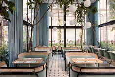 Harlan+Holden Glasshouse Café | GamFratesi Design