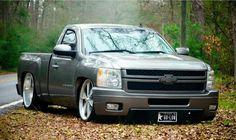 New Chevy, Chevrolet Trucks, Chevrolet Silverado, Cool Trucks, Chevy Trucks, 2008 Chevy Silverado 1500, Silverado Z71, Dropped Trucks, Lowered Trucks
