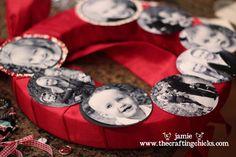 sm photo wreath layout