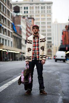 Buffalo sweater. #style #fashion #men