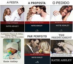 Românticos e Eróticos Book: Katie Ashley - A Proposta #0.5 a #3