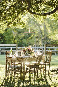 one very pretty picnic/party ♥
