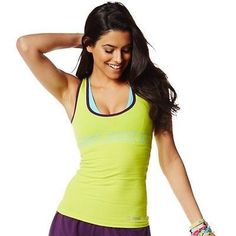 Zumba Fitness All That And A Instructor Racerback - Zumba Green