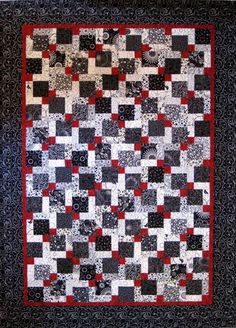 http://valentinequiltworks.blogspot.com/2009/02/disappearing-9-patch-quilt.html