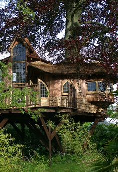Fairytale Castle - Tree House by BlueForest, via Flickr