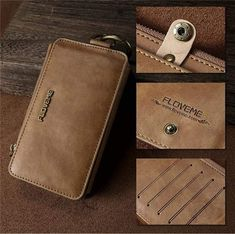 Luxury PU Leather Wallet Case For iPhone 5 SE 6 7 8 Flip Stand B – elegantonlinemarket