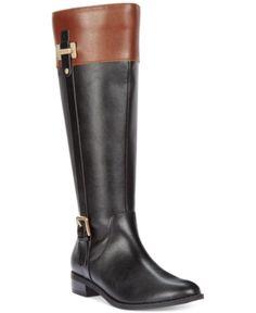 a6176c5fd03 Karen Scott Deliee Wide-Calf Riding Boots