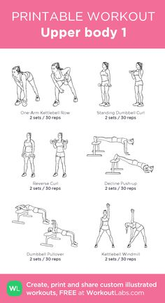 Upper Body 1 My Visual Workout Created At WorkoutLabs O Click Through To