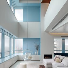 17 best family living images on pinterest living room modern lounge and living room decor - Appartement duplex winder gibson architecte ...